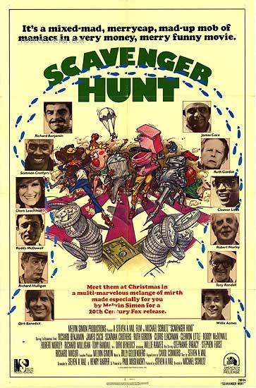 affiche du film Scavenger Hunt