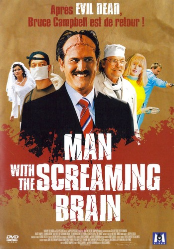 affiche du film Man With the Screaming Brain