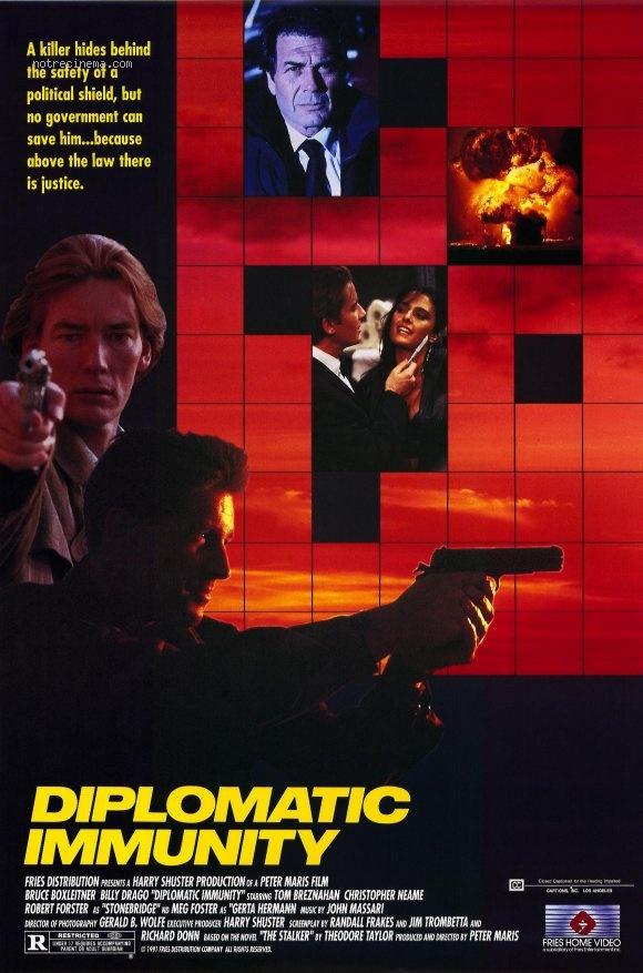 affiche du film Diplomatic Immunity