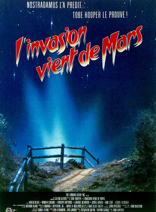 affiche du film L'Invasion vient de Mars