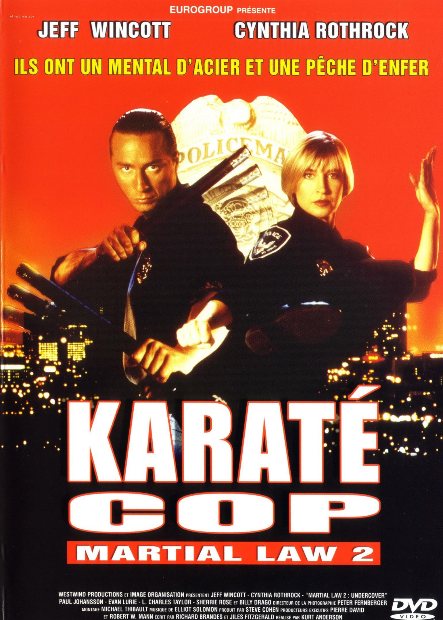 affiche du film Karaté Cop
