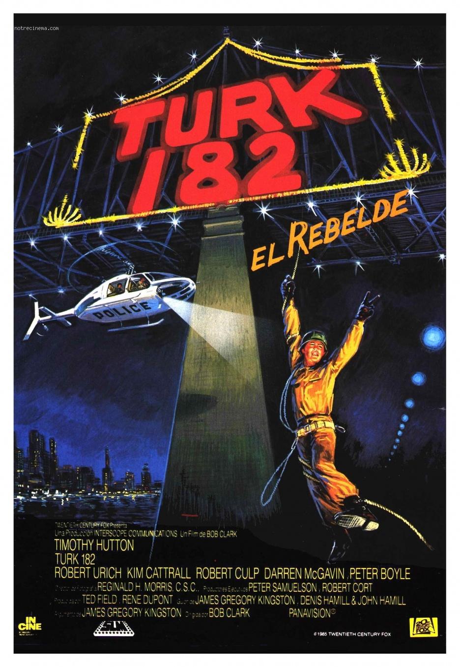 affiche du film Turk 182!