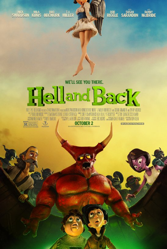 affiche du film Hell and Back