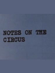 affiche du film Notes on the Circus