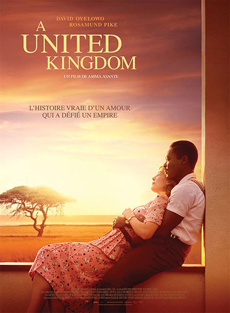 affiche du film A United Kingdom