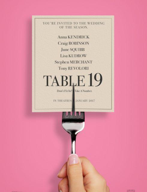 affiche du film Table 19