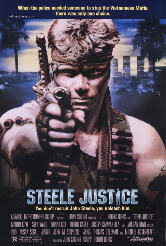 affiche du film Steele Justice