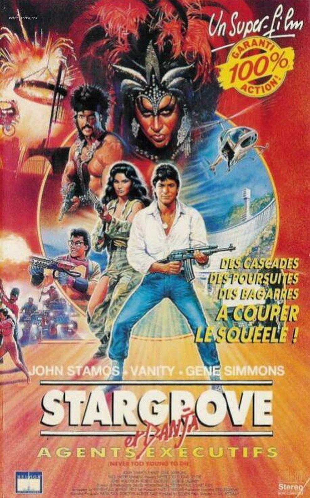 affiche du film Stargrove et Danja, Agents Éxécutifs