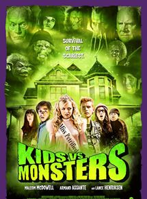 affiche du film Kids vs Monsters
