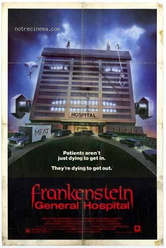 affiche du film Frankenstein General Hospital