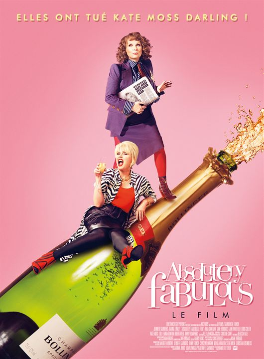 affiche du film Absolutely Fabulous : Le Film
