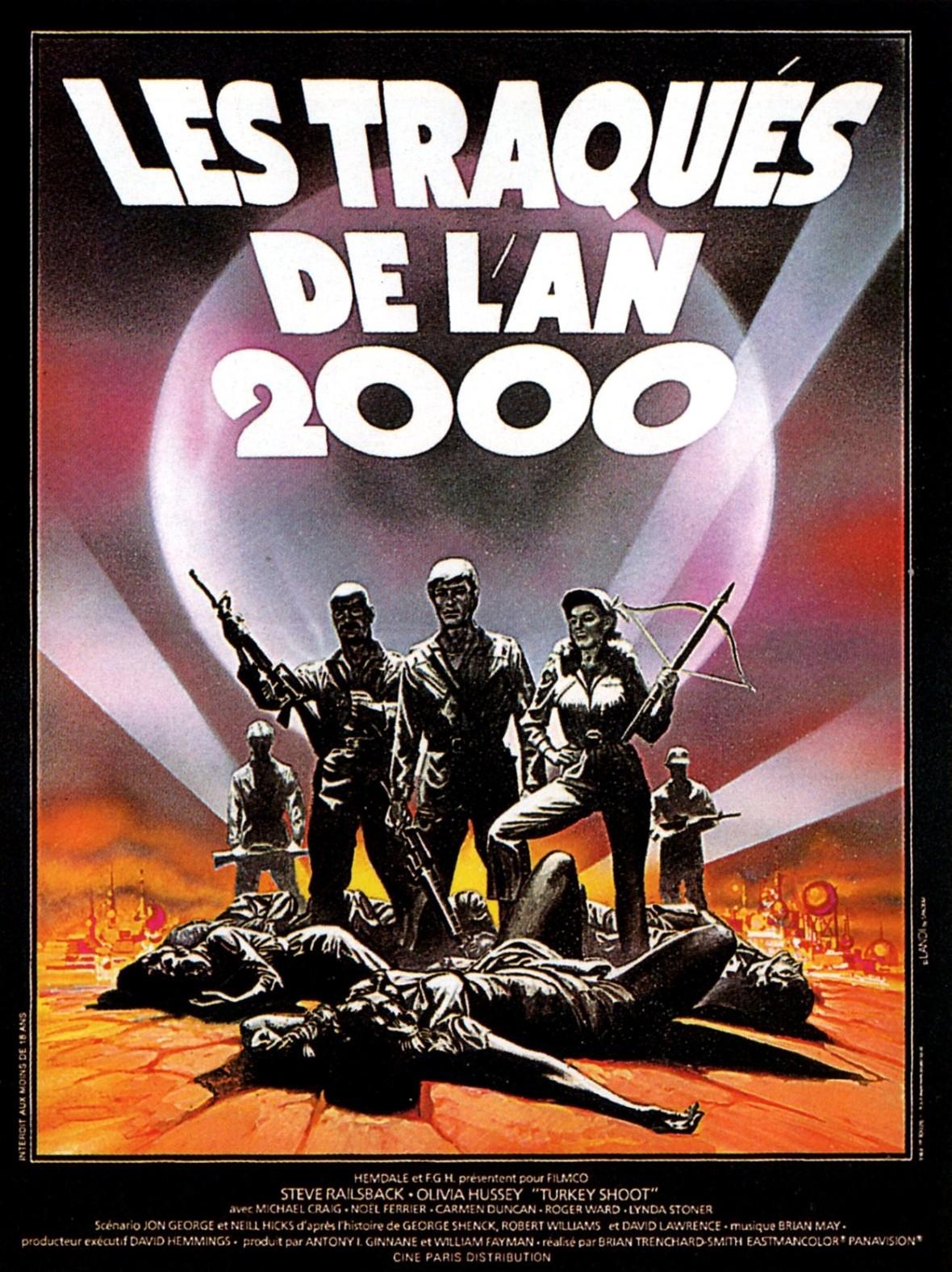 affiche du film Les traqués de l'an 2000 (1982)