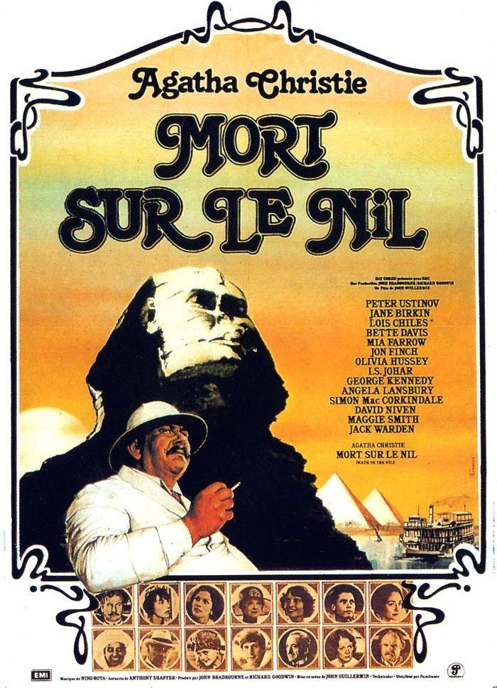 affiche du film Mort sur le Nil (1978)