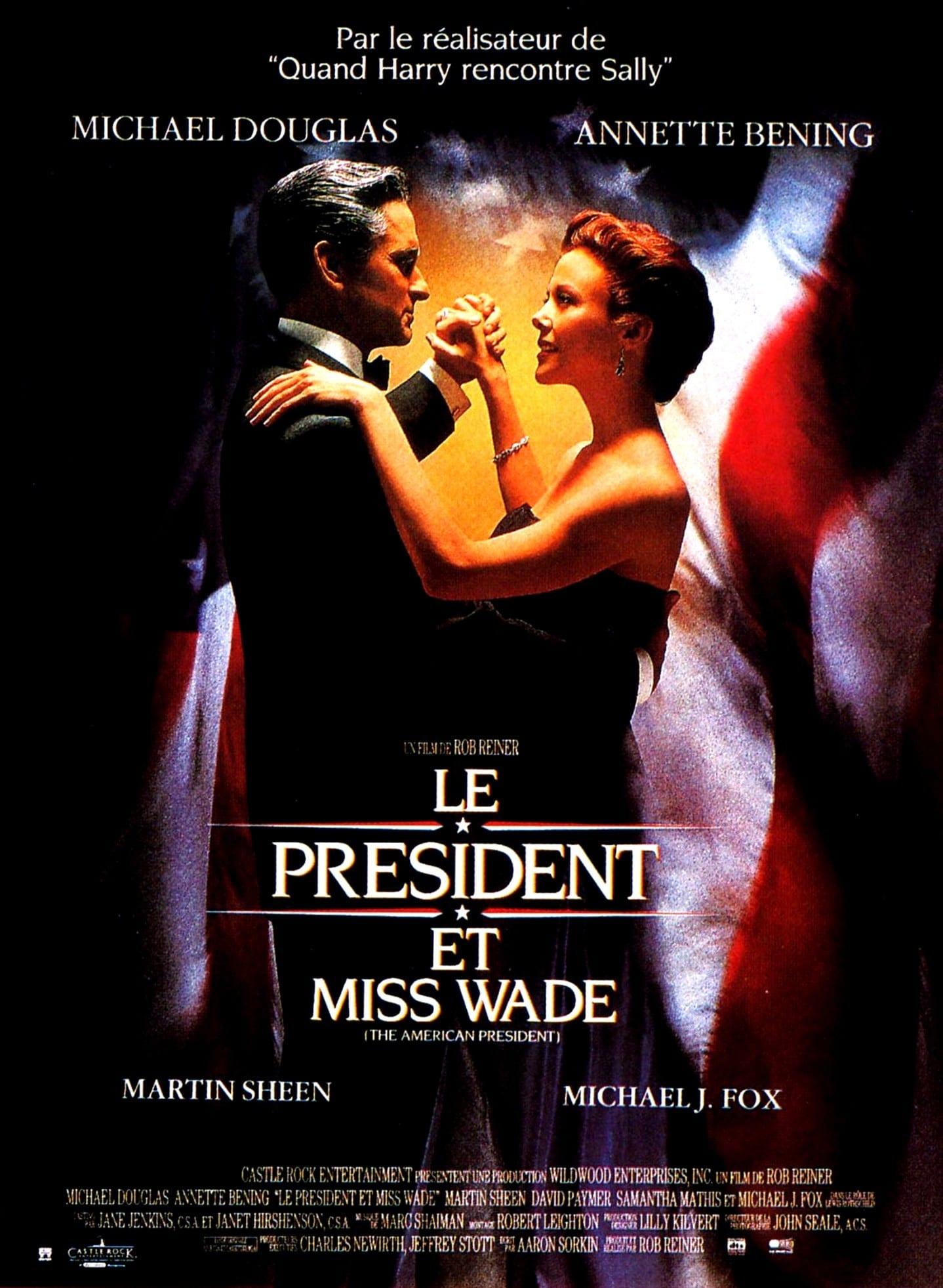 affiche du film Le président et Miss Wade