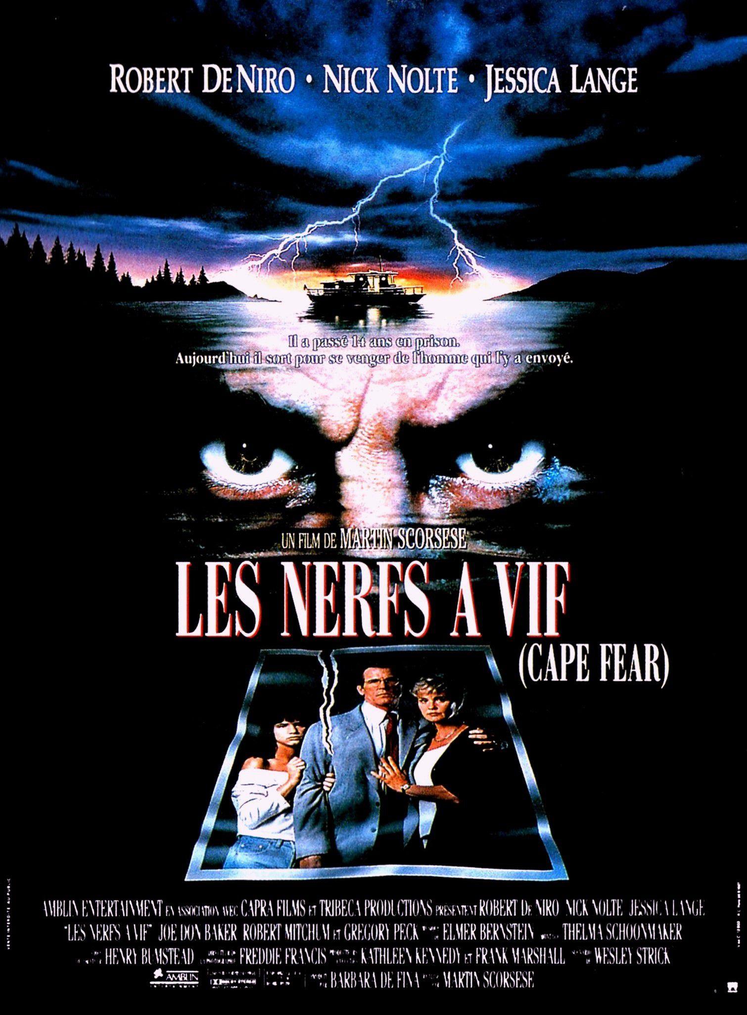 affiche du film Les nerfs à vif (1991)