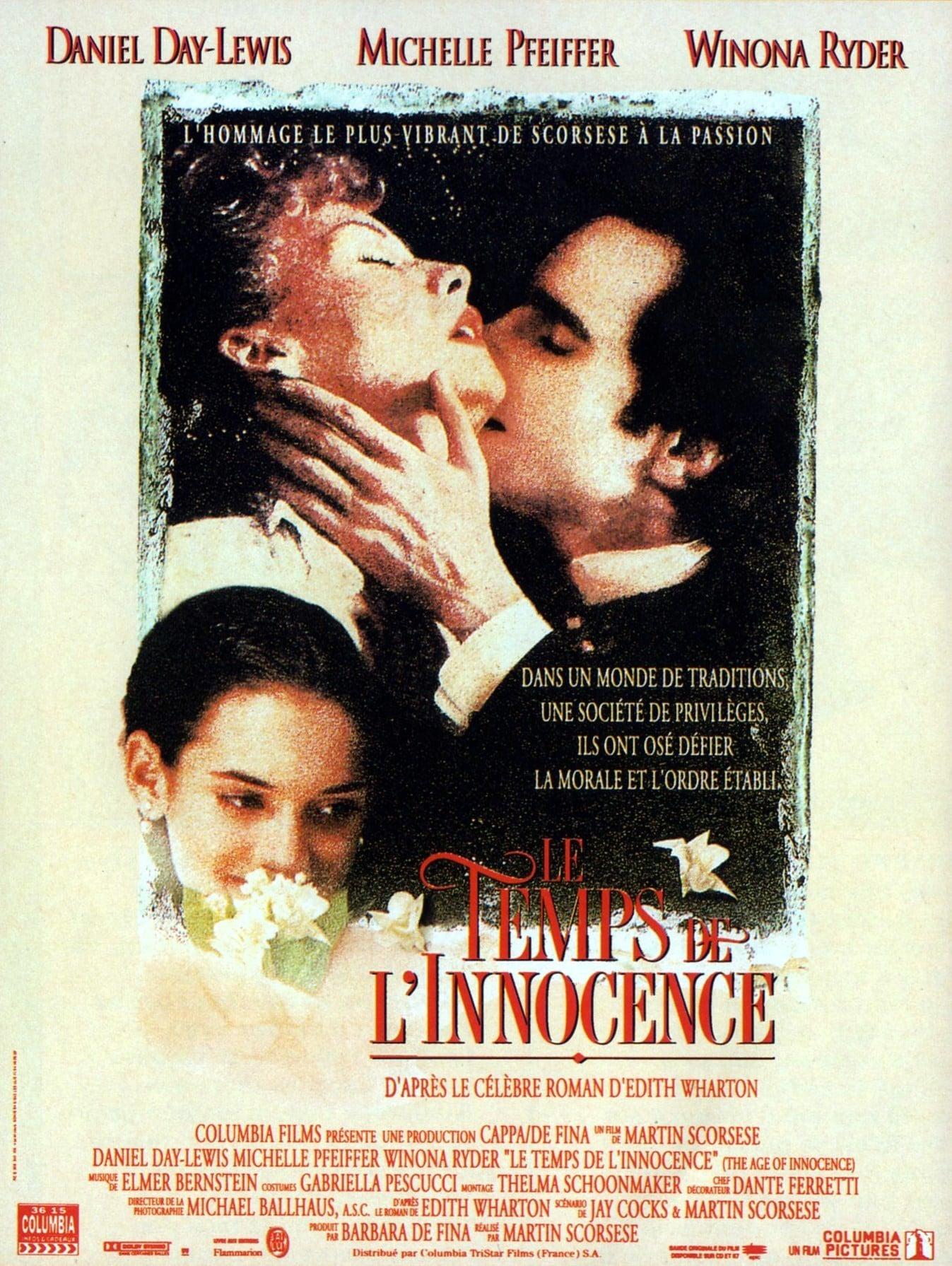 affiche du film Le Temps de l'innocence