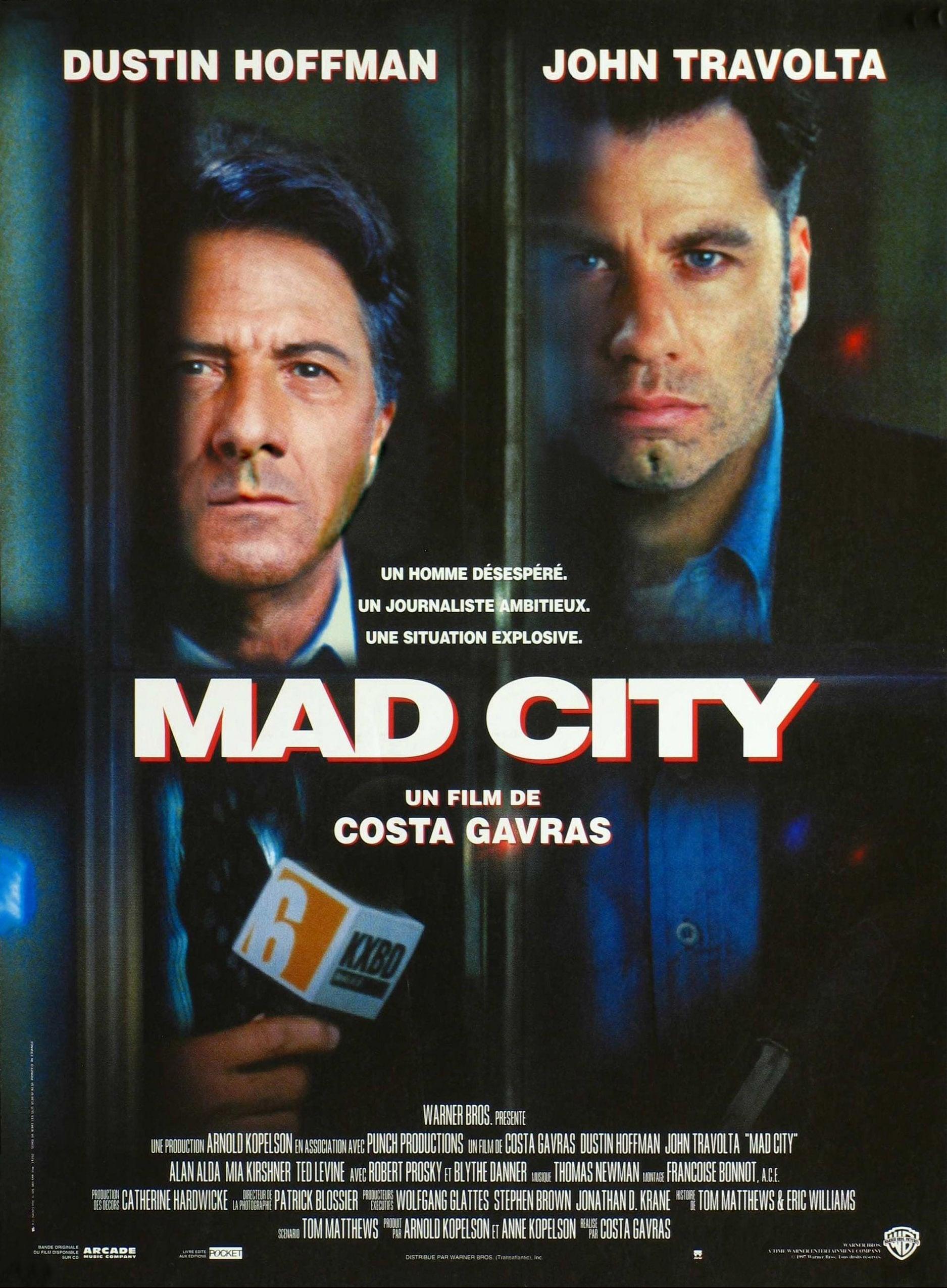 affiche du film Mad City