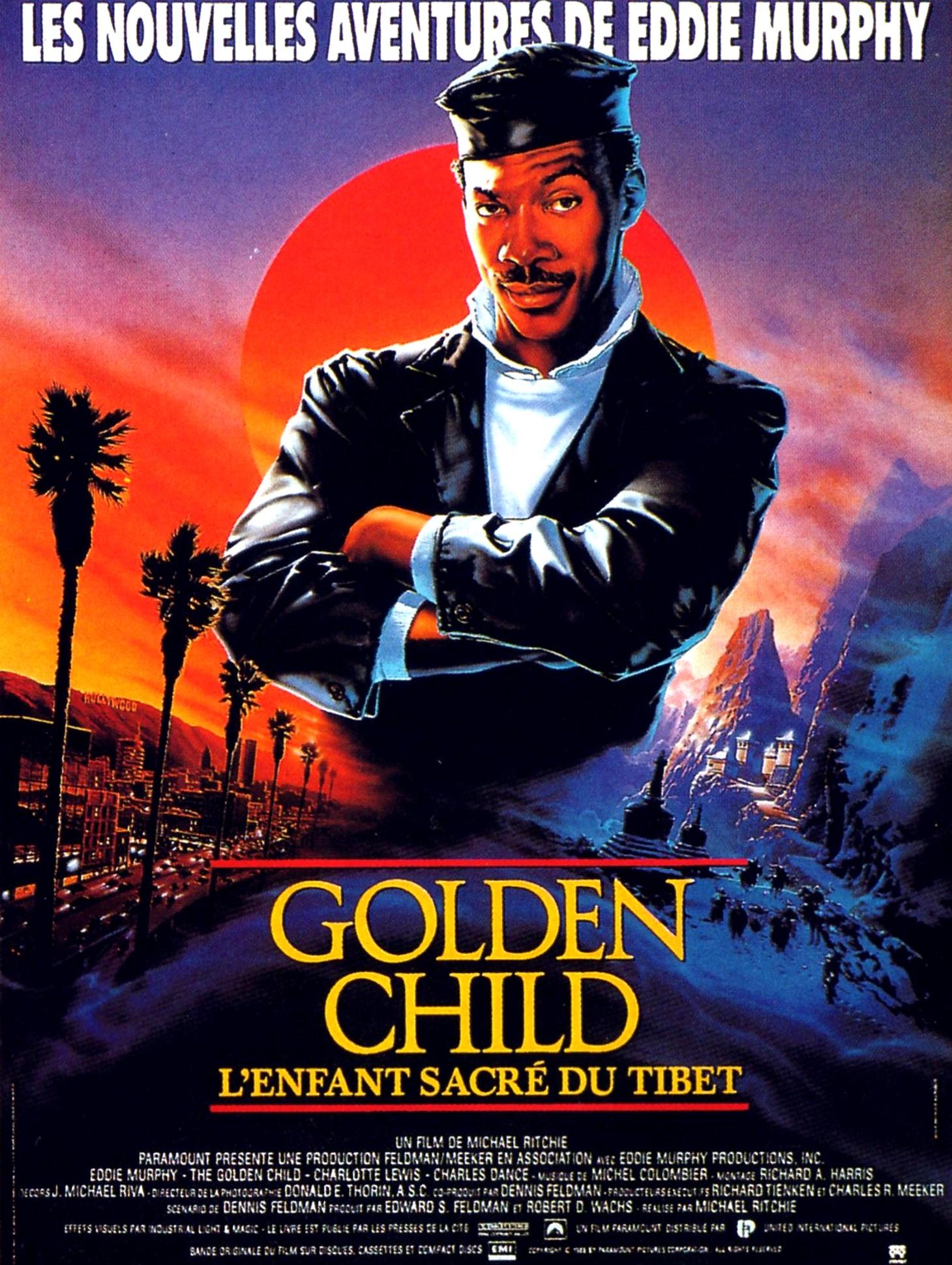 affiche du film Golden child: L'enfant sacré du Tibet