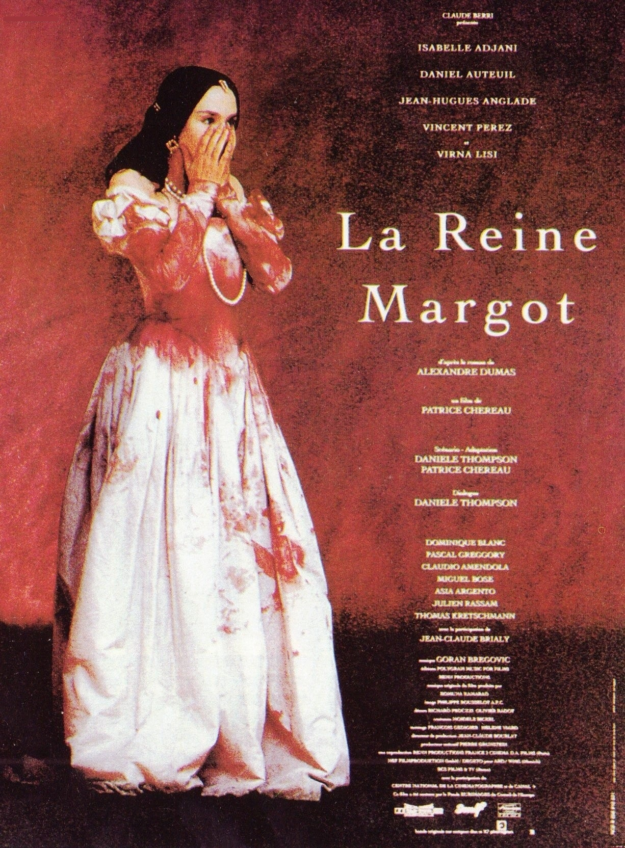 affiche du film La reine Margot (1994)