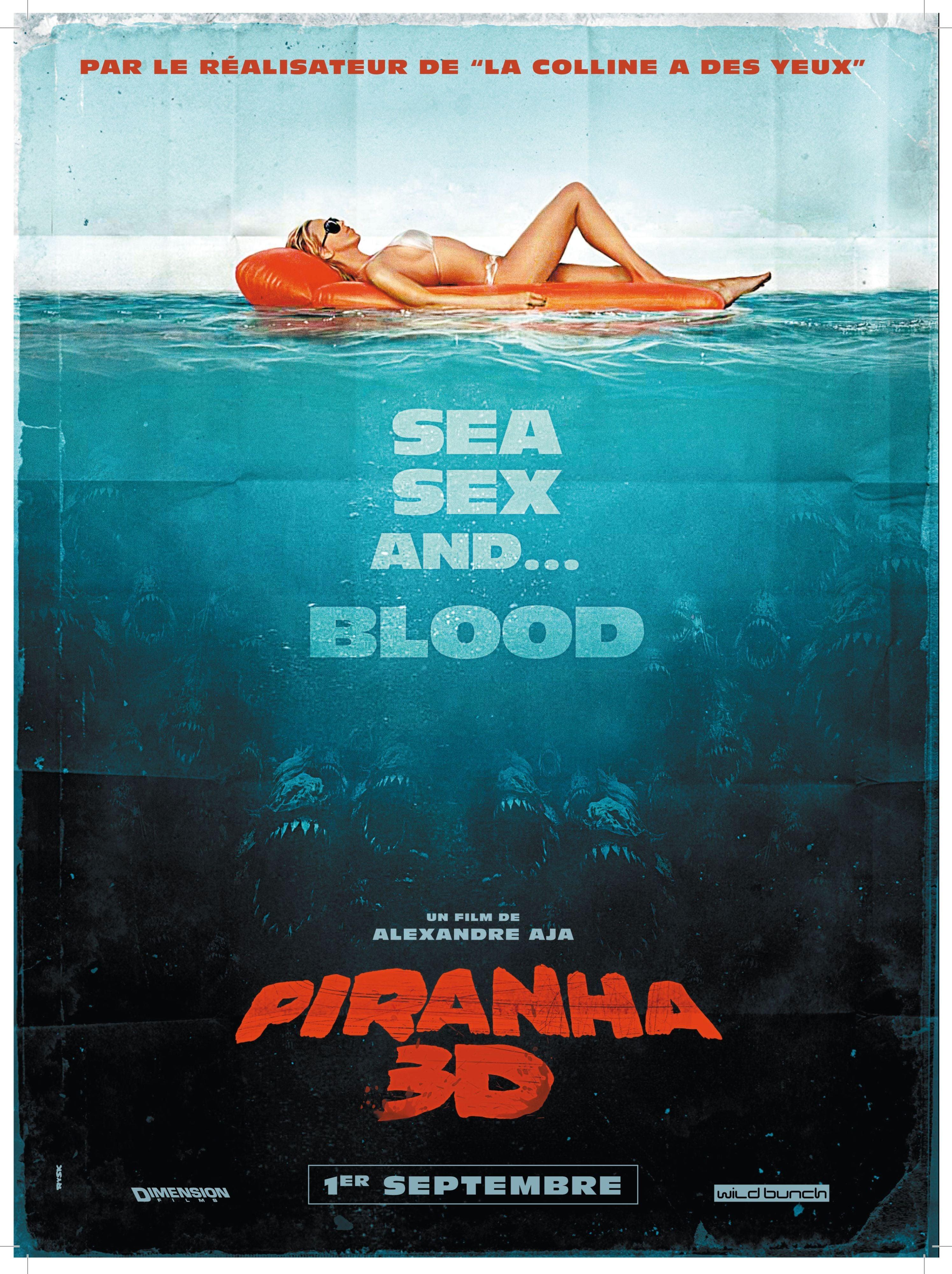 affiche du film Piranha 3D