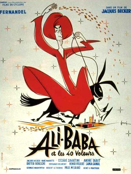 affiche du film Ali Baba et les 40 voleurs