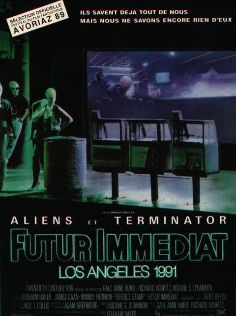 affiche du film Futur immédiat, Los Angeles 1991