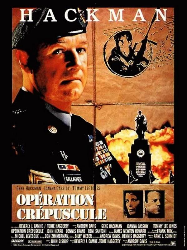 affiche du film Opération crépuscule
