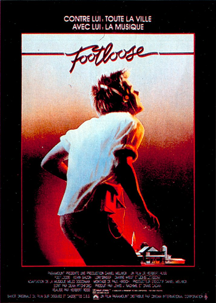 affiche du film Footloose (1984)