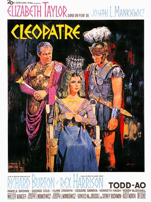 affiche du film Cléopâtre (1963)