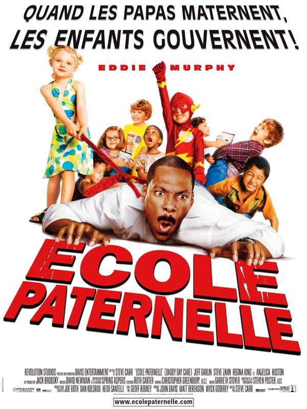 affiche du film École paternelle