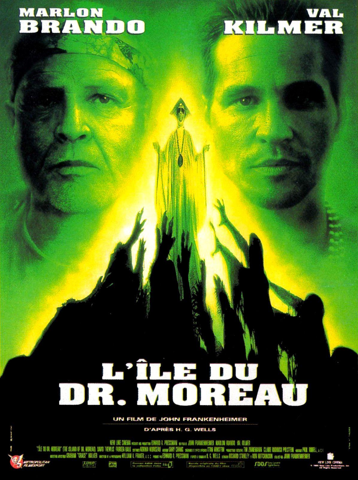 affiche du film L'île du Dr Moreau