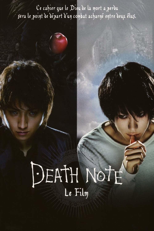 affiche du film Death Note, le film