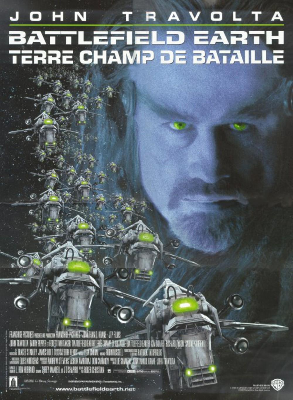 affiche du film Battlefield Earth: Terre champ de bataille