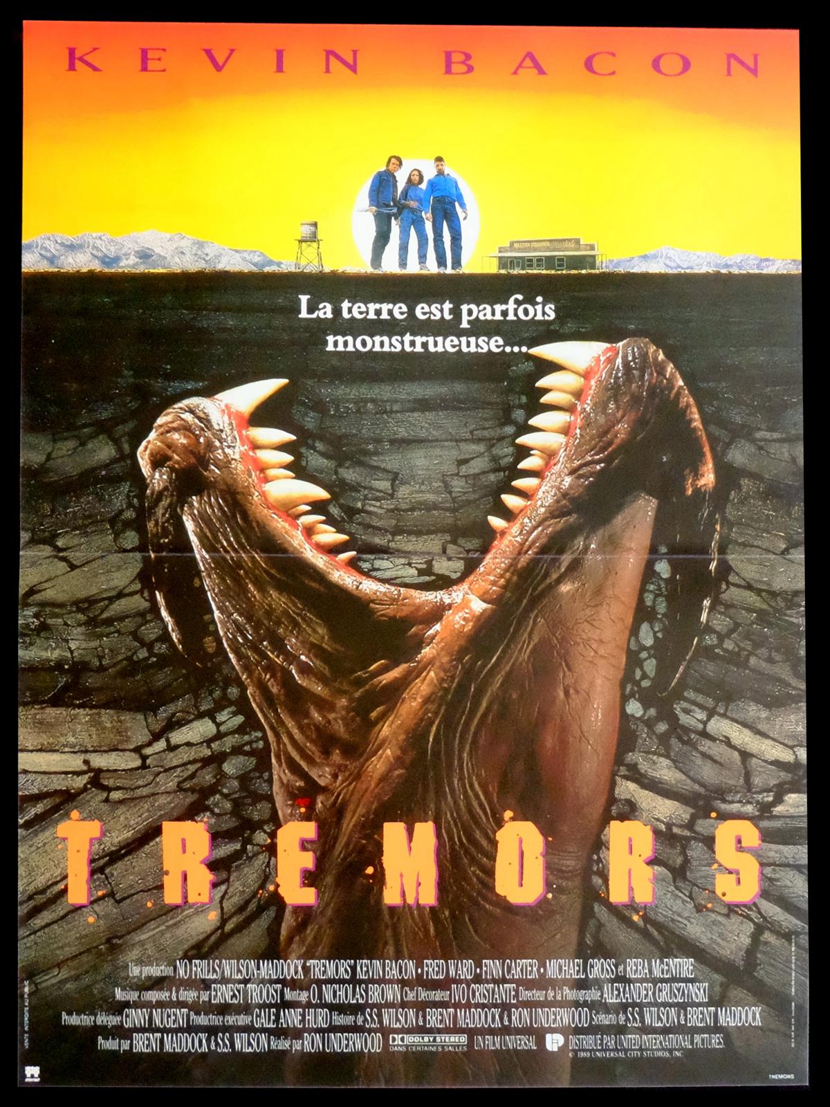 affiche du film Tremors