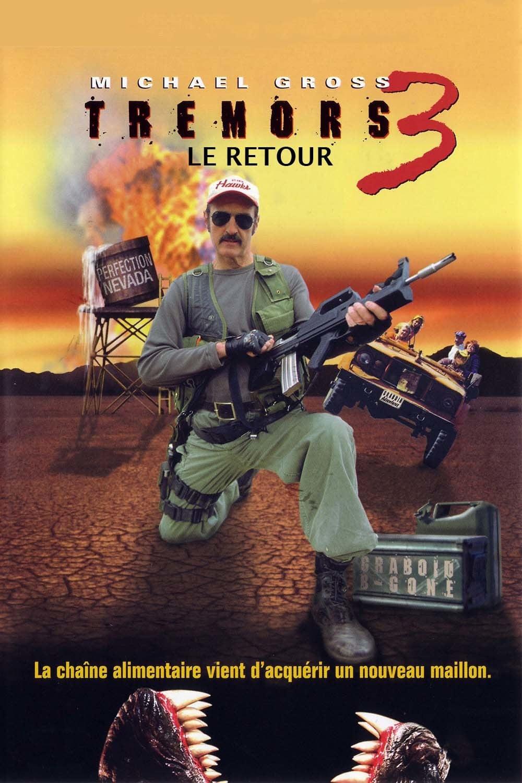 affiche du film Tremors 3, le retour