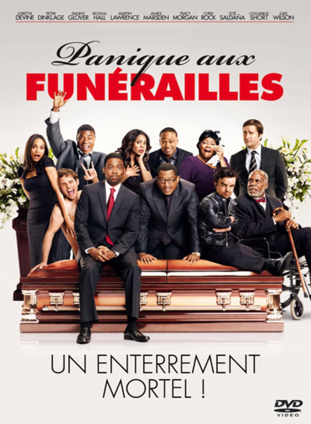 affiche du film Panique aux funérailles
