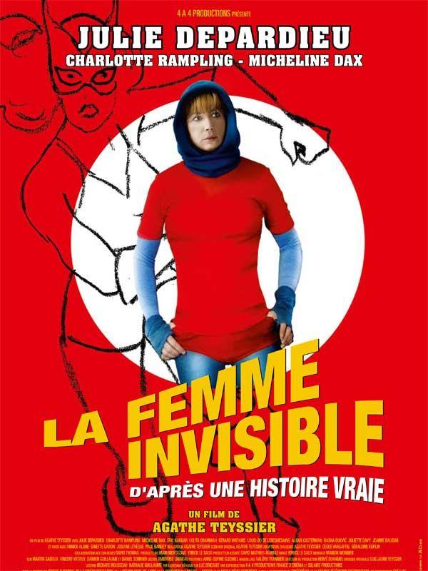 affiche du film La femme invisible, d'après une histoire vraie