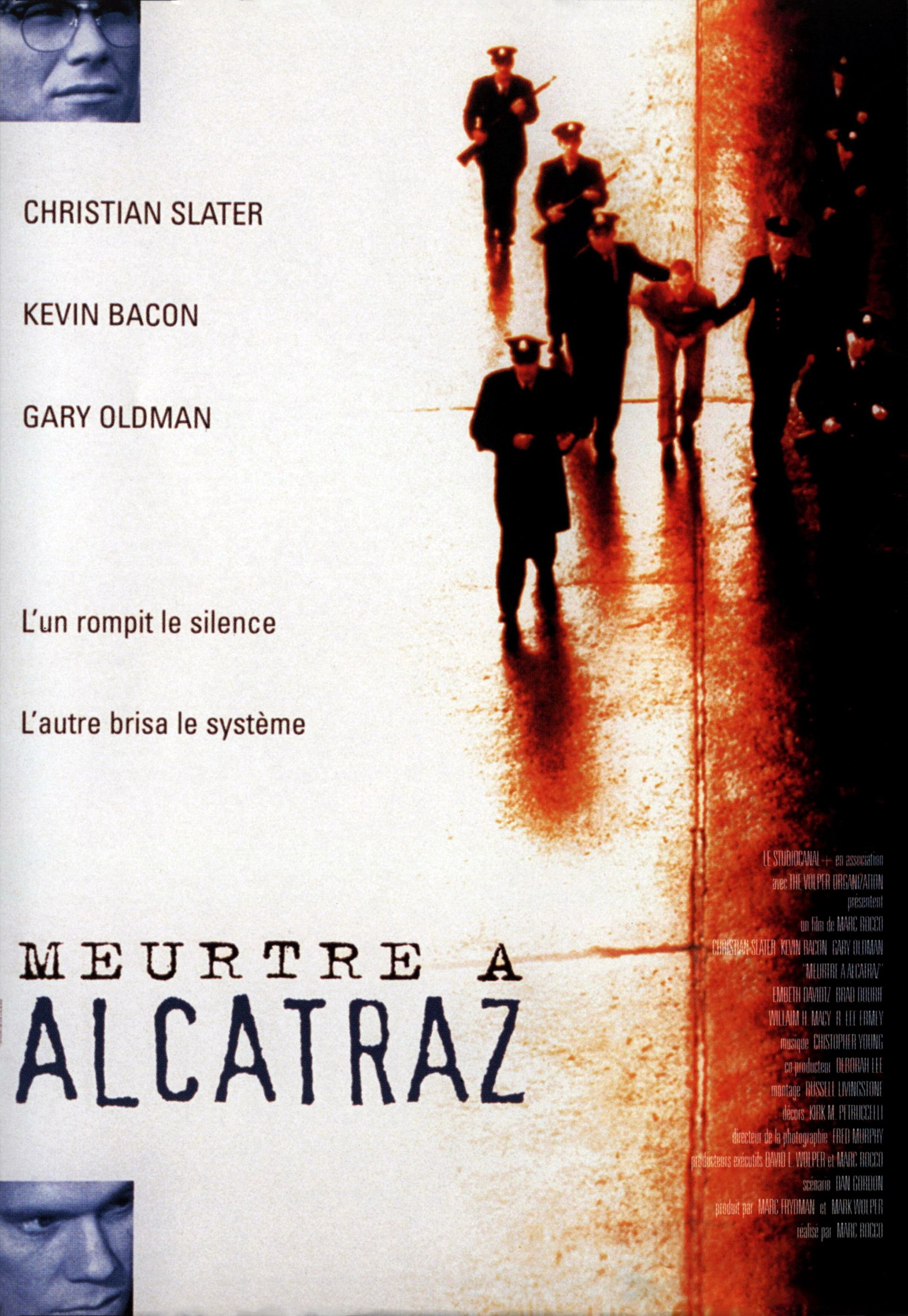 affiche du film Meurtre à Alcatraz