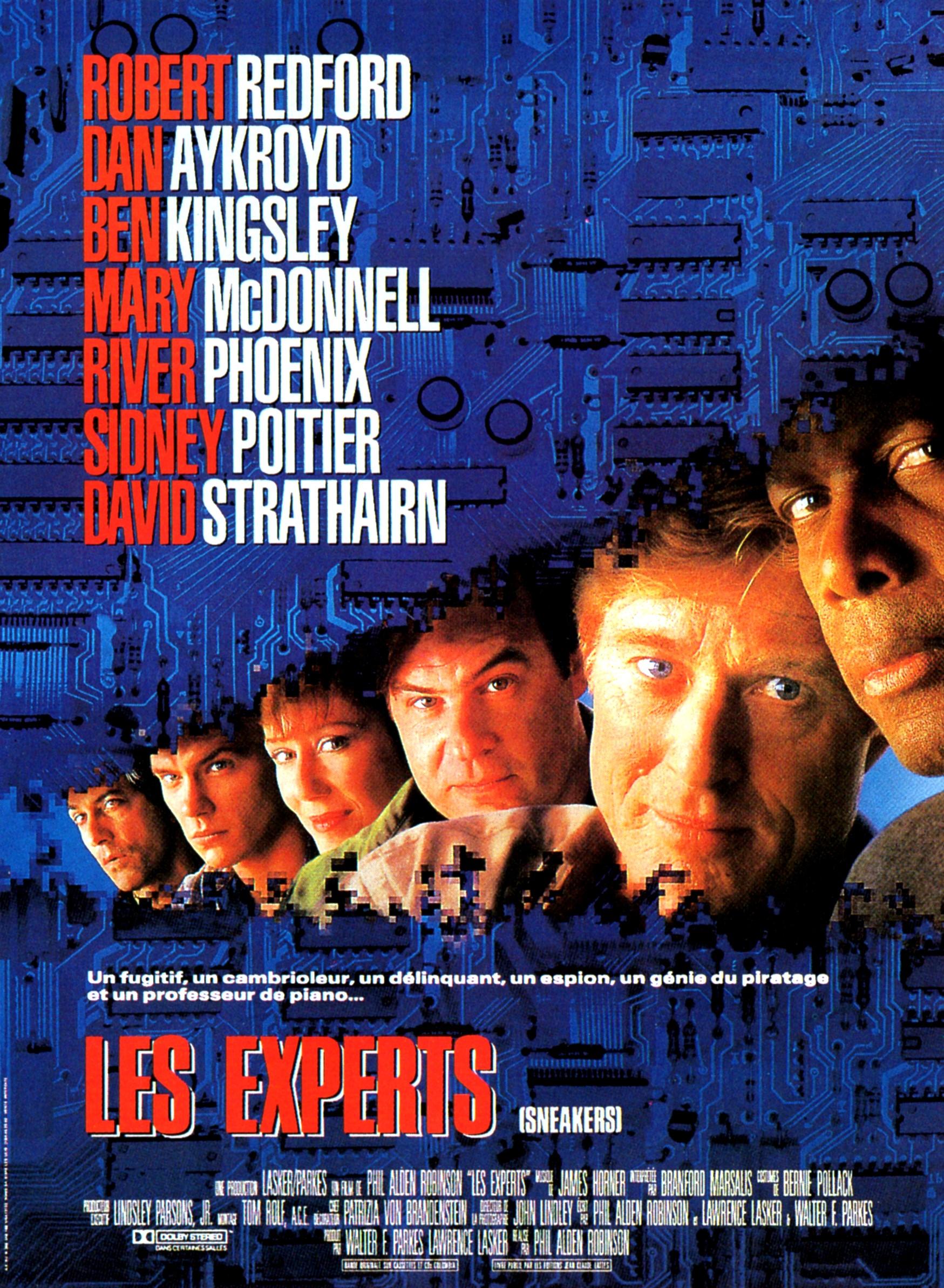 affiche du film Les experts (1992)
