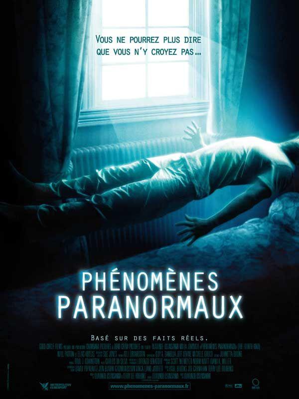 affiche du film Phénomènes paranormaux