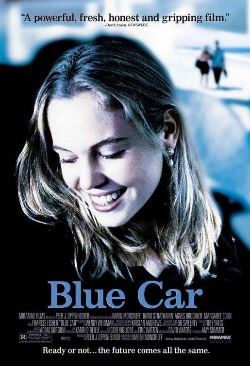 affiche du film Blue Car