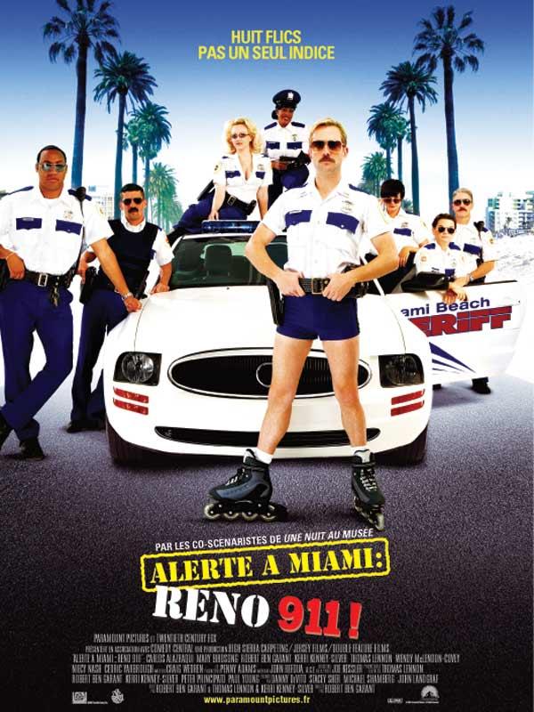 affiche du film Alerte à Miami Reno 911