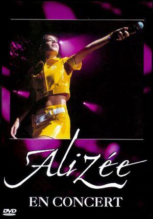 affiche du film Alizée en concert