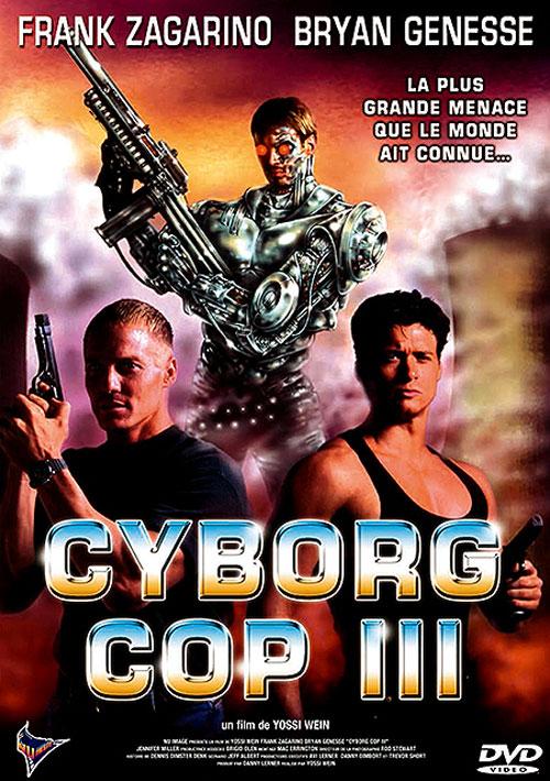 affiche du film Cyborg Cop III