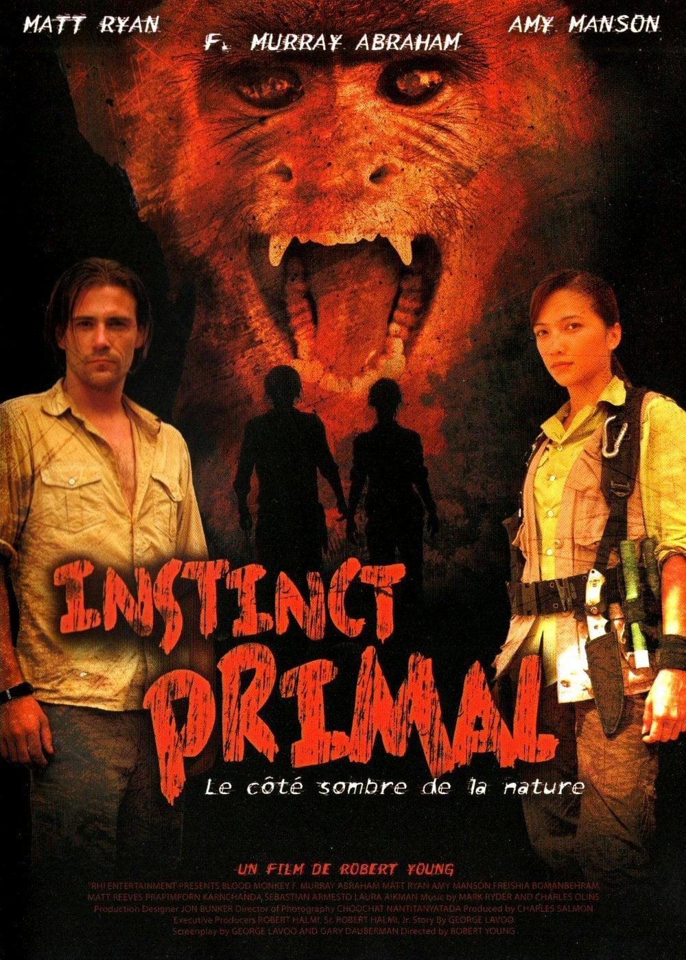 affiche du film Instinct Primal