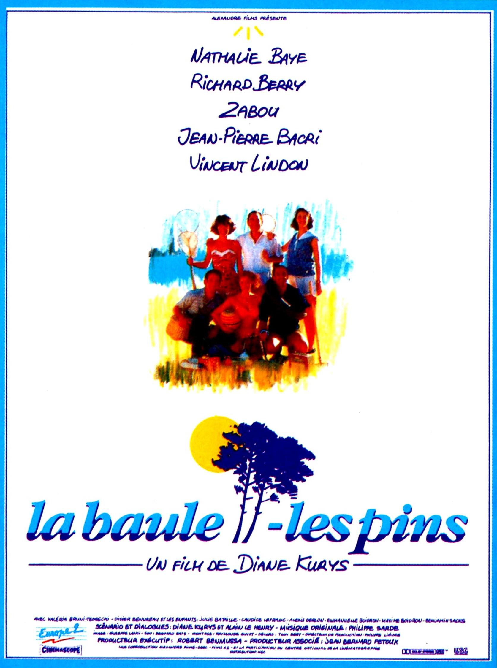 affiche du film La Baule-les-Pins