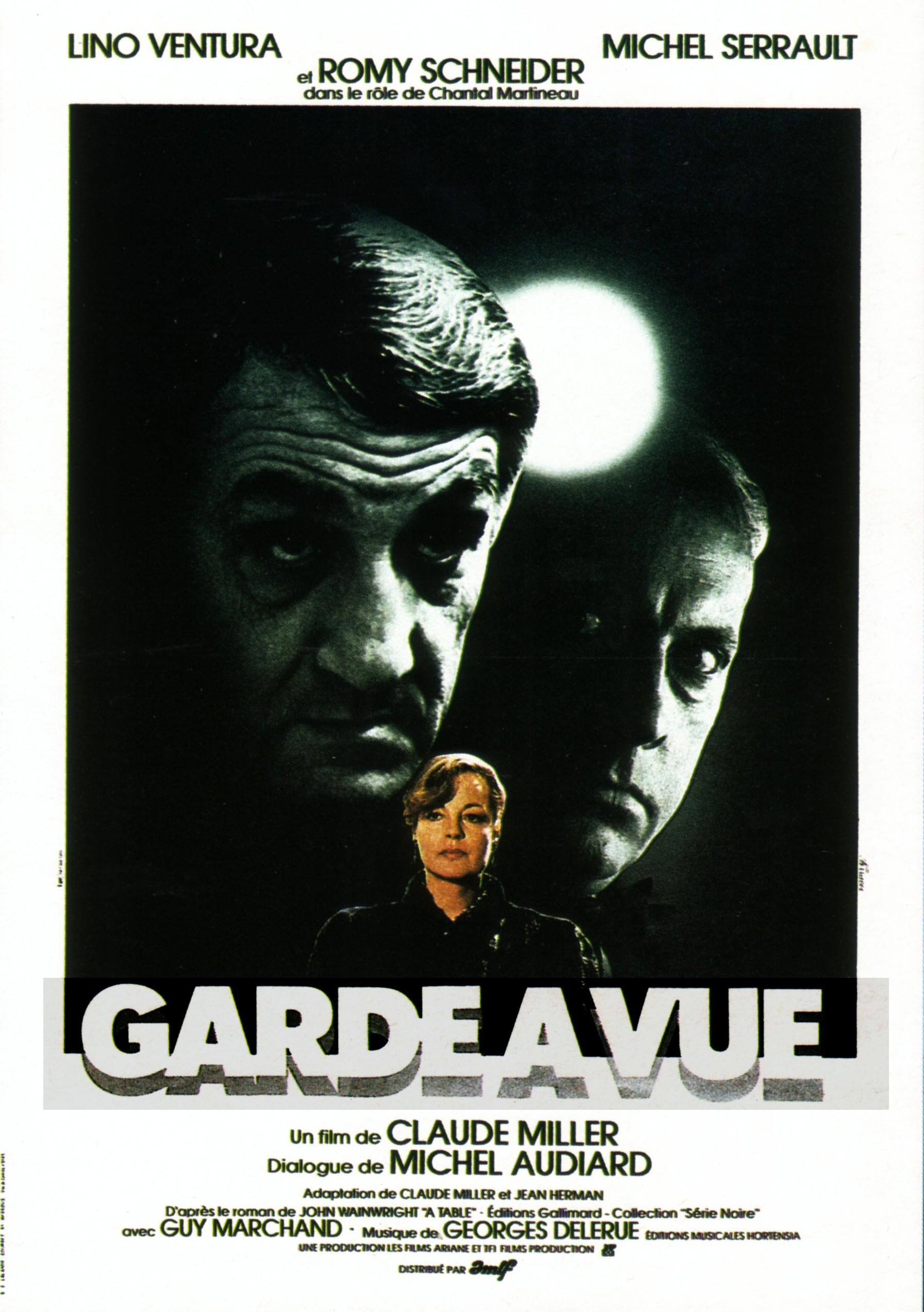 affiche du film Garde à vue