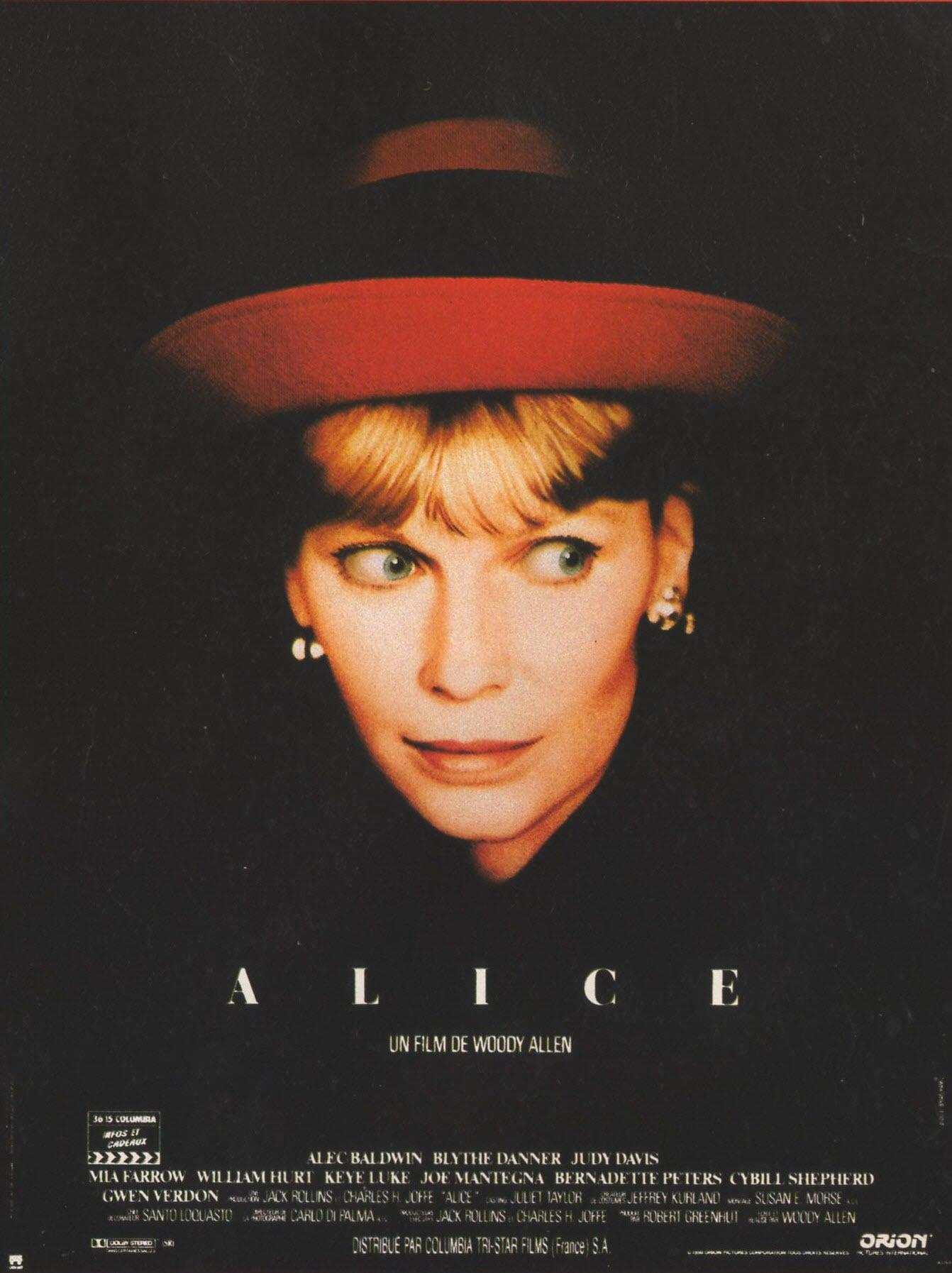 affiche du film Alice (1990)