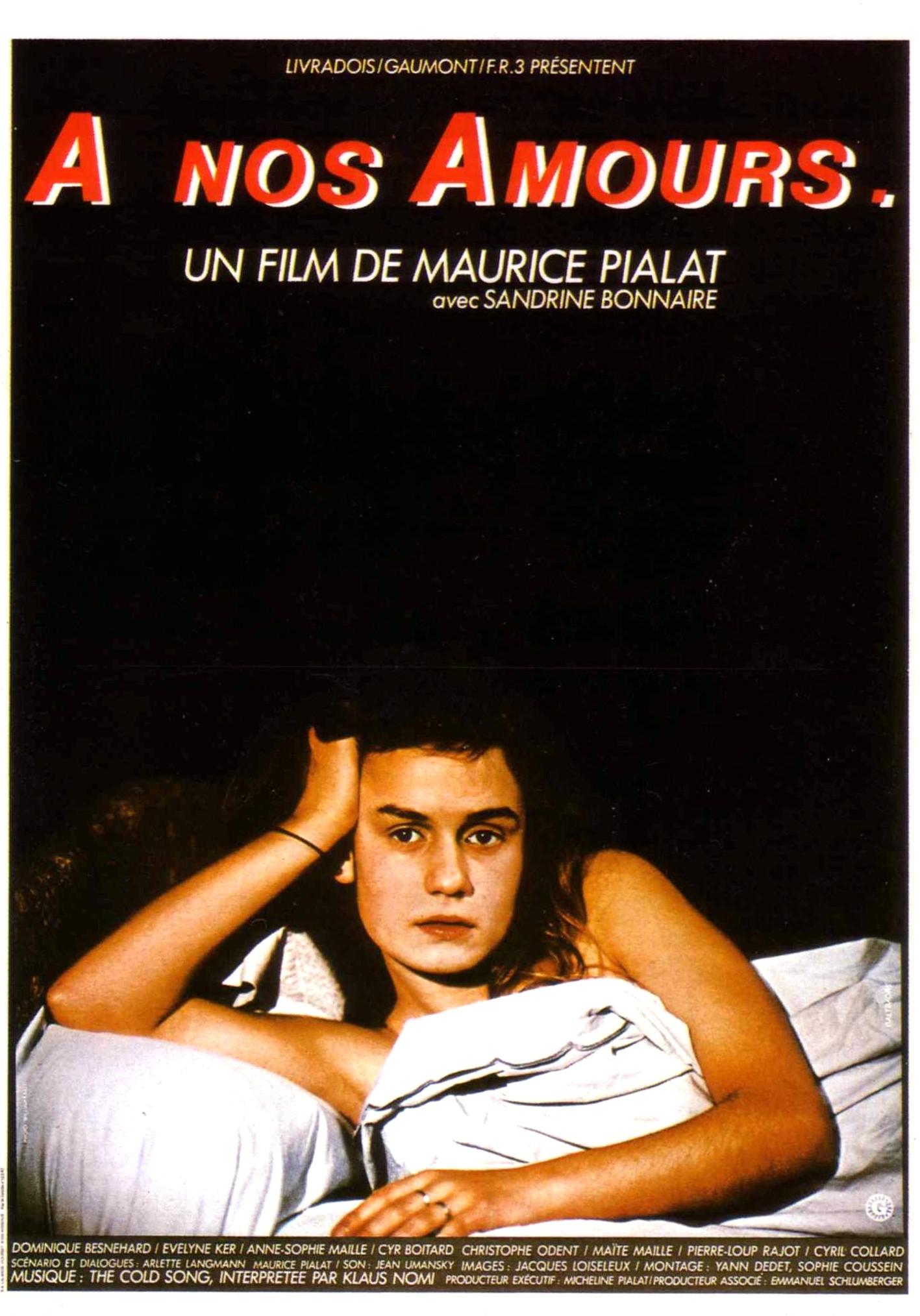 affiche du film À nos amours