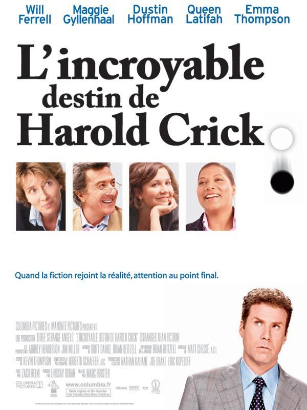affiche du film L'incroyable destin de Harold Crick